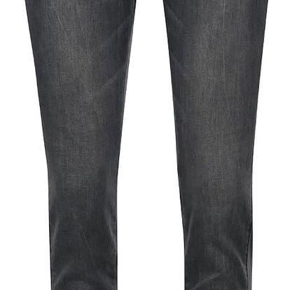Šedé dámské slim fit džíny s atypickým zapínáním QS by s. Oliver
