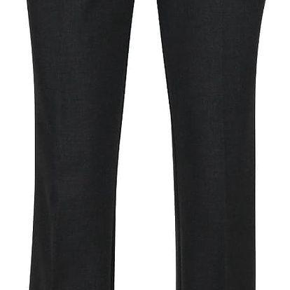 Tmavě šedé dámské strečové kalhoty s.Oliver