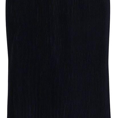Tmavě modrá plisovaná sukně VILA Giram