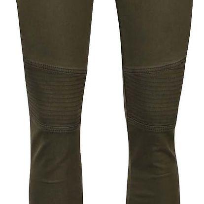 Khaki dámské slim fit džíny Cars Morgan