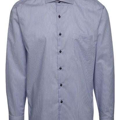 Modrá pruhovaná formální košile Seven Seas California