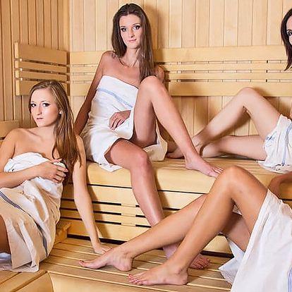 90 minut nicnedělání v privátní sauně a vířivce