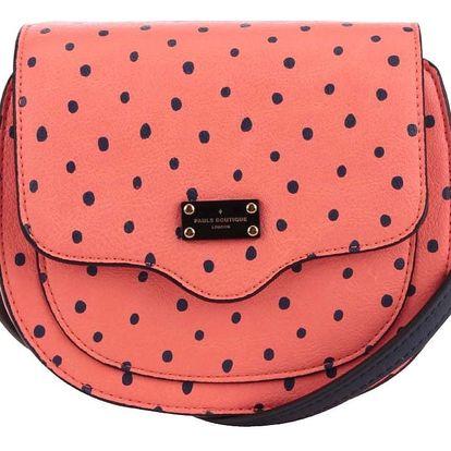 Oranžová puntíkovaná crossbody kabelka Paul's Boutique Francesca