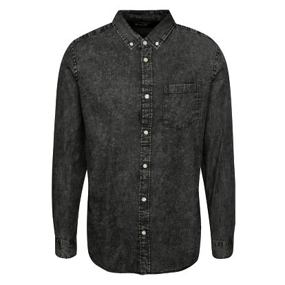 Šedá džínová košile Jack & Jones Erik