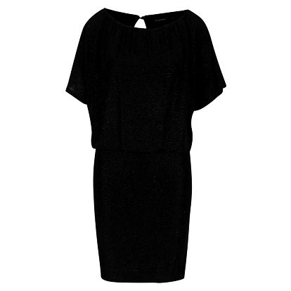 Černé třpytivé šaty Solar b.young