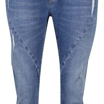 Modré dámské 3/4 džíny Pepe Jeans Topsy
