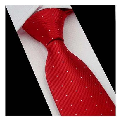 Hedvábná formální kravata - mnoho vzorů