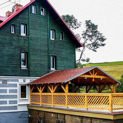 Jaro i léto v Hotelu Star *** v Krušných horách s polopenzí