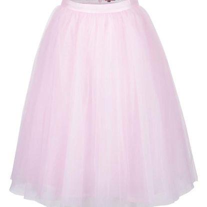 Růžová tylová sukně Chi Chi London Alena