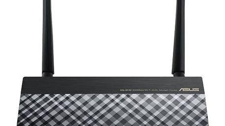 Router Asus DSL-N14U (90IG00Z1-BM3020) černý ASUS – Rondo kupon (zdarma)