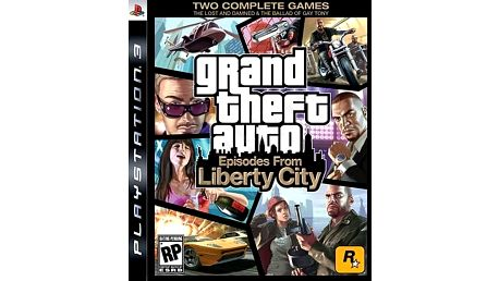 Grand Theft Auto: Episodes from Liberty City - PS3 - 5026555403849