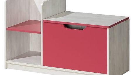 Dolmar Skříňka NUKI NU3 barva doplňků: růžová