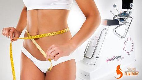 10–20 vstupů na běžecký pás VacuShape a masáž BodyRoll ve Studiu Slim Body v Brně
