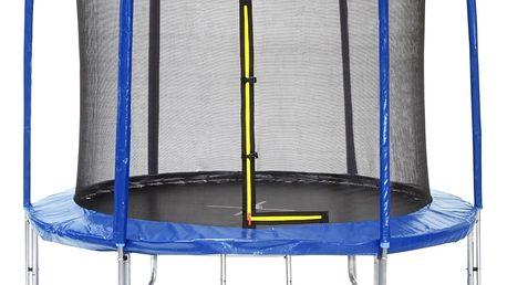 Trampolína Marimex 244 cm + ochranná síť + žebřík