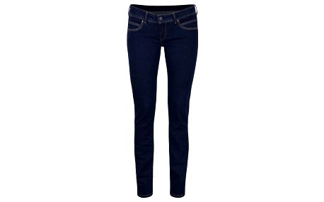Modré dámské slim fit džíny Pepe Jeans Ariel