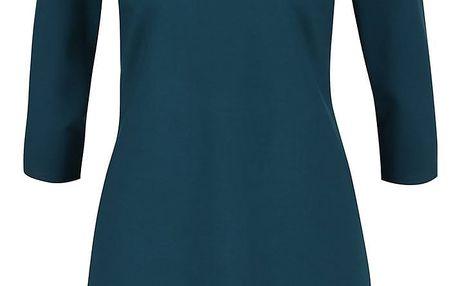 Petrolejové šaty s rolákem Closet