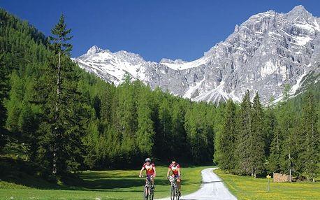 Rakousko, Bike arena Stubai, Tyrolsko, Rakousko, autobusem, polopenze