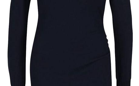 Tmavě modré asymetrické šaty Bench Realization