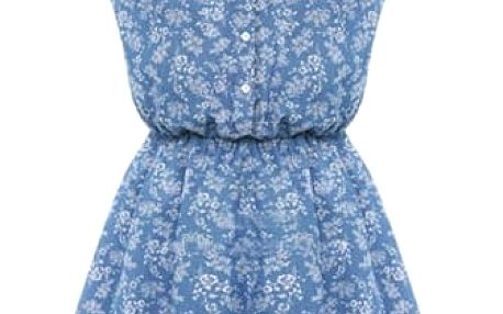 Dámské letní retro šaty s květinovým vzorem