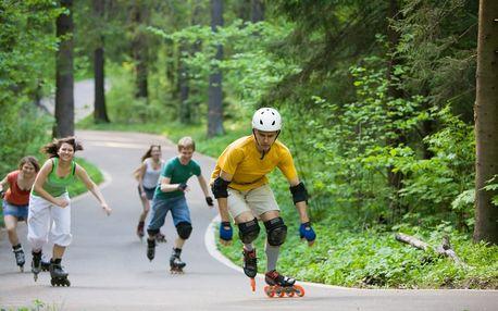 Německo, Bruslařský ráj FLAEMING SKATE 'cyklistika / in line brusle'