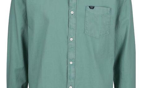 Zelená pánská košile s.Oliver