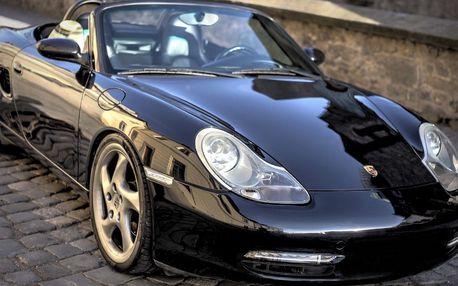 Řízení kabrioletu Porsche Boxster