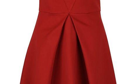 Cihlové šaty Closet