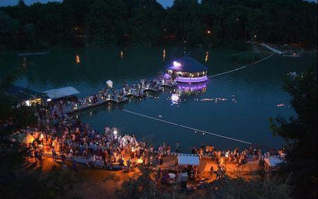 Wellness pobyt na břehu léčivého jezera pro 2 osoby s polopenzí nedaleko Budapešti