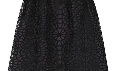 Šedo-černá vzorovaná sukně VERO MODA Klik
