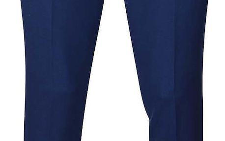 Modré oblekové kalhoty Lindbergh