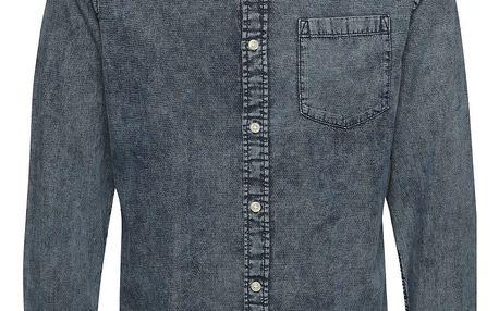 Modrá džínová košile Jack & Jones Erik
