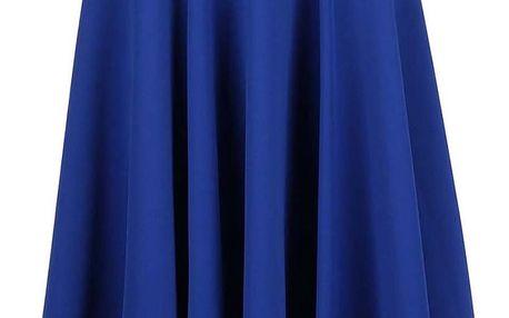 Modrá midi sukně Closet