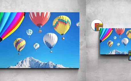 Fotoobraz z vašich fotek na malířském plátnu včetně rámu