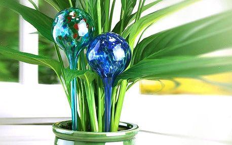 2 zalévací koule pro samočinné zavlažování rostlin