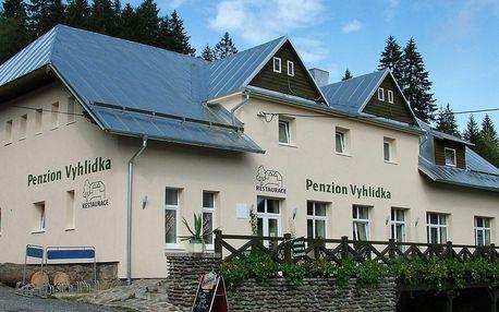 Penzion Vyhlídka na Šumavě, jarní a letní pobyty s domácí polopenzí