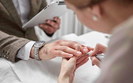 Péče o ruce: klasická manikúra pro dámy i pány, P-shine, gel lak, gelové nebo akrylové nehty