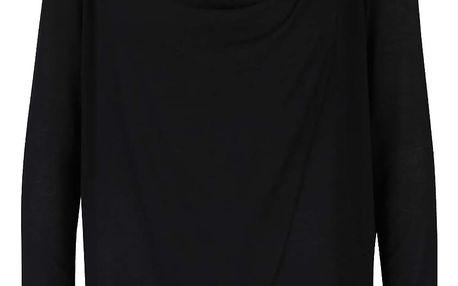 Černé dámské tričko s dlouhým rukávem PEP Famous