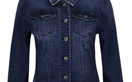 Tmavě modrá džínová bunda ONLY Chris