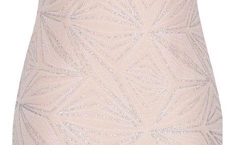 Tělové šaty se špagetovými ramínky Noisy May Glitter