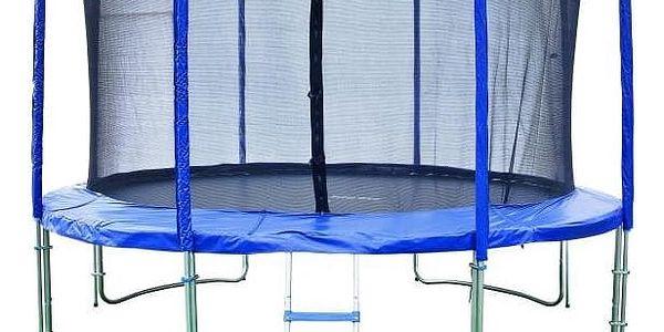 Marimex Trampolína Marimex 427 cm + vnitřní ochranná síť + žebřík ZDARMA - 19000011