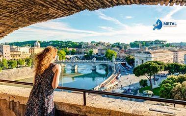 Zájezd do Itálie: Vatikán, Neapol, Řím