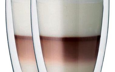 """Maxxo """"Cafe Latte"""" 2dílná sada termo skleniček, 380 ml"""