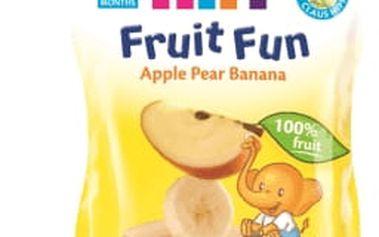 6x HIPP BIO ovocné pyré Jablko-Hruška-Banán (90 g)