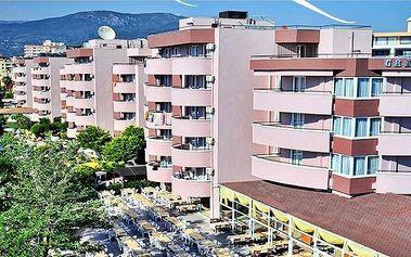 Turecko - Alanya na 8 až 15 dní, all inclusive s dopravou letecky z Brna