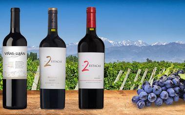 Argentinská vína Los Toneles