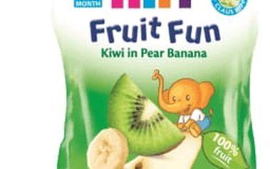 6x HIPP BIO Ovocné pyré Hrušky-Banán-Kiwi (90 g)