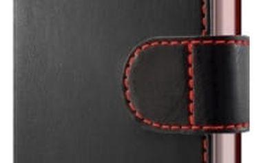 Pouzdro na mobil flipové FIXED pro Huawei Y6 II Compact (FIXFIT-135-BK) černé