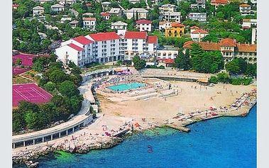 Chorvatsko - Kvarner na 10 dní, plná penze nebo polopenze s dopravou autobusem