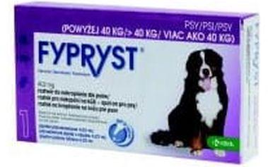 Fypryst Dogs 1 x 4.02 ml spot-on pro psy (více jak 40 kg)