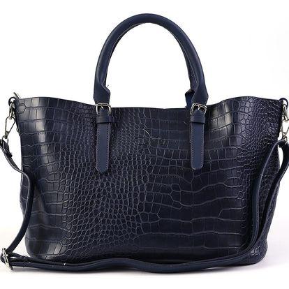 Fashion Icon Kabelka dámská Crocodile Skin motiv krokodýl stylová větší